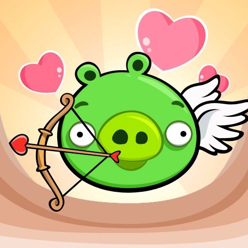 Angry Birds Valentine Pig
