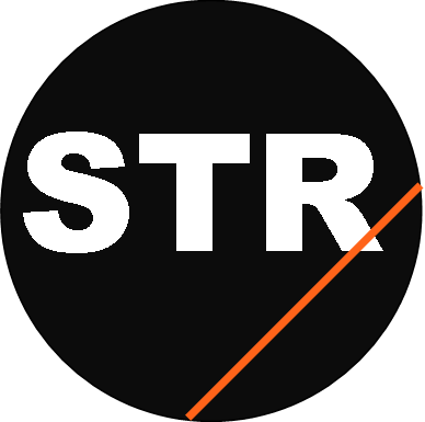 STR logo orange