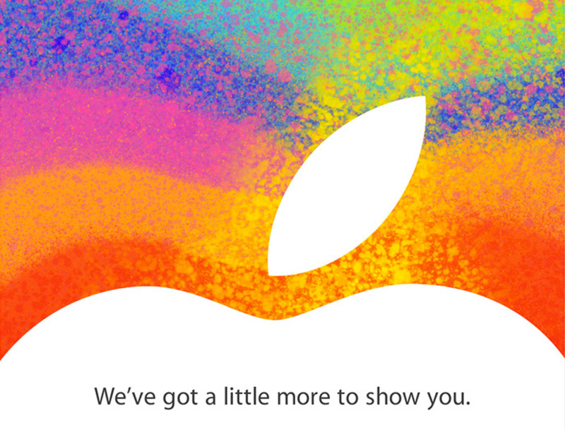 iPad Mini Event Invite