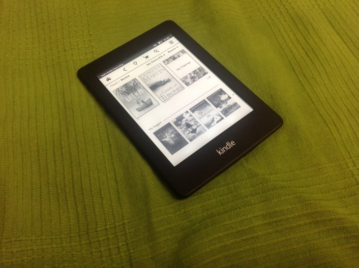 Amazon Kindle Paperwhite Header