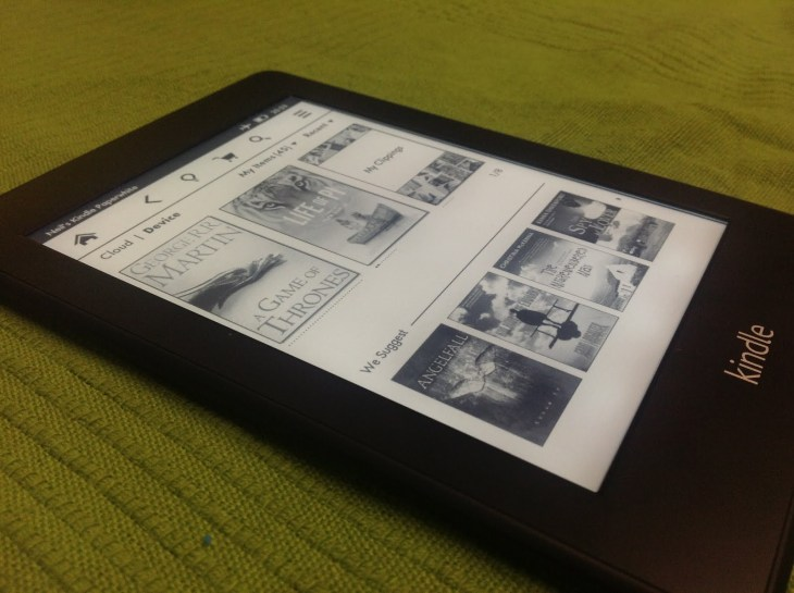 Amazon Kindle Paperwhite Software