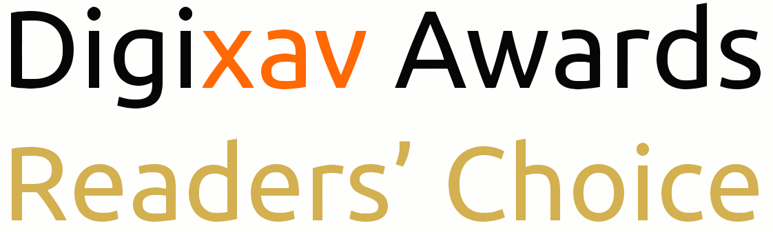Digixav Awards Readers' Choice Vector