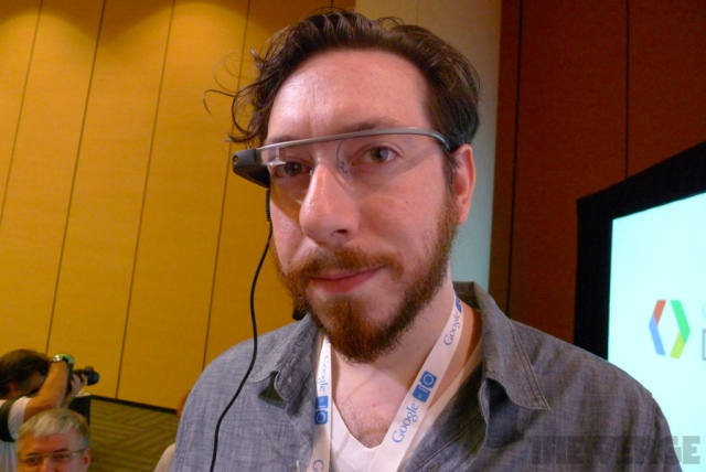 Google Project Glass Joshua Topolsky