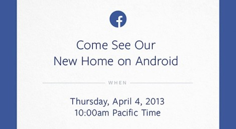 Facebook Android Event Invite