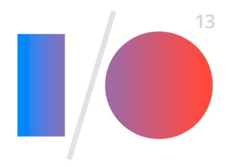 Logo of Google I/O 2013, the keynote of which Voigt-Hill avoided for three whole hours