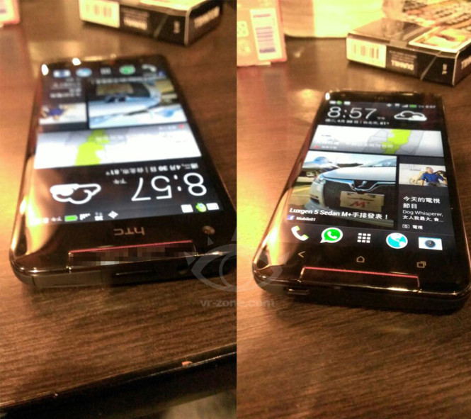HTC Butterfly S Viewing Angles