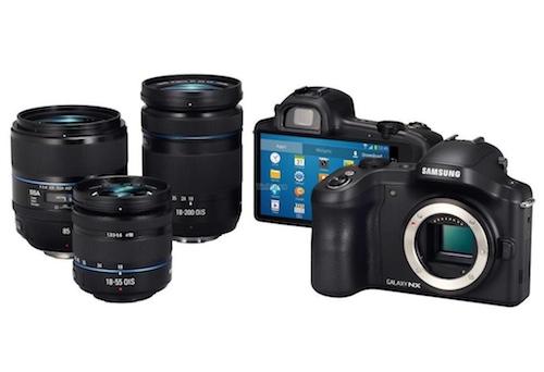 Samsung Galaxy NX Lenses