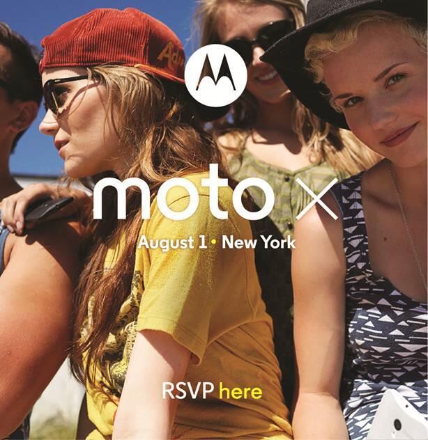 Moto X Event Invite