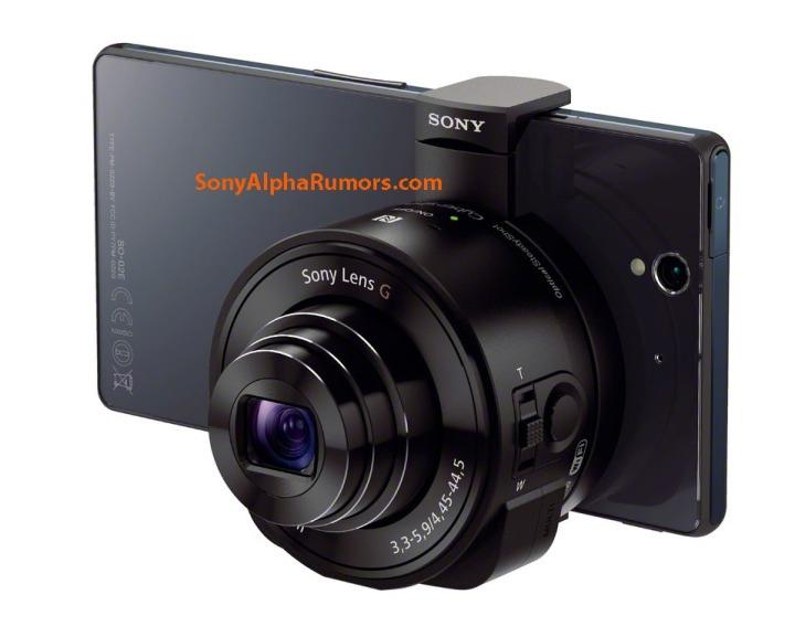 Sony Alpha QX10 Xperia Z Leak